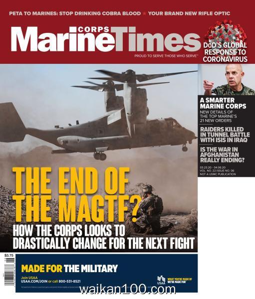 Marine Corps Times 3月刊 23 2020年 [35MB]