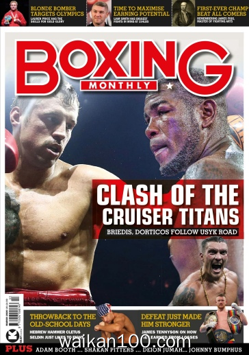 Boxing Monthly 3月刊 2020年 [76MB]
