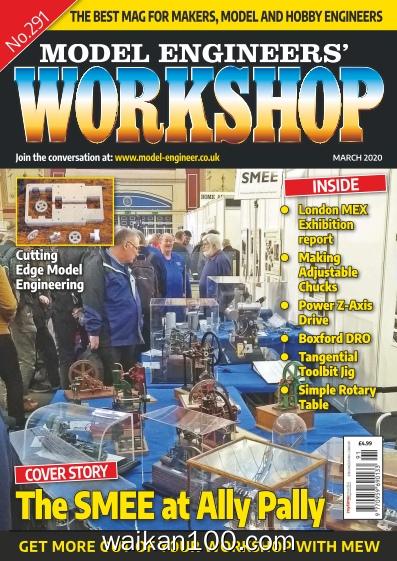 Model Engineers'Workshop 3月刊 2020年 [13MB]