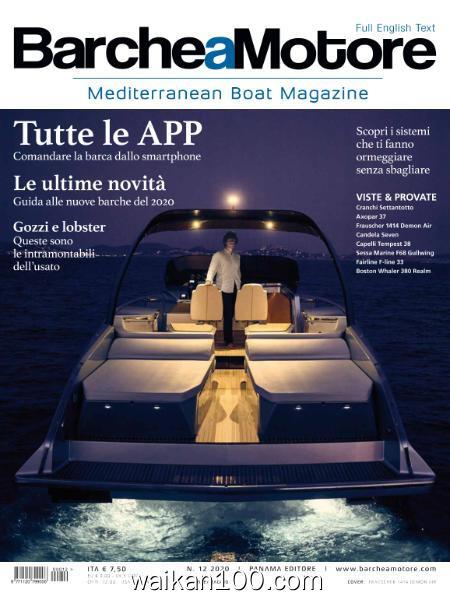 Barche a Motore N 12 4月刊e Maggio 2020年 [24MB]