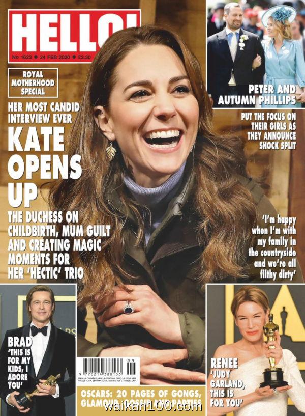 [英国版]Hello!Magazine 02 3月刊 2020年高清PDF电子杂志外刊期刊下载英文原版