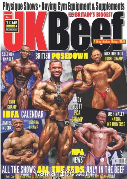 UK Beef 总期数No.109 1月2月合刊 2020年 [23MB]