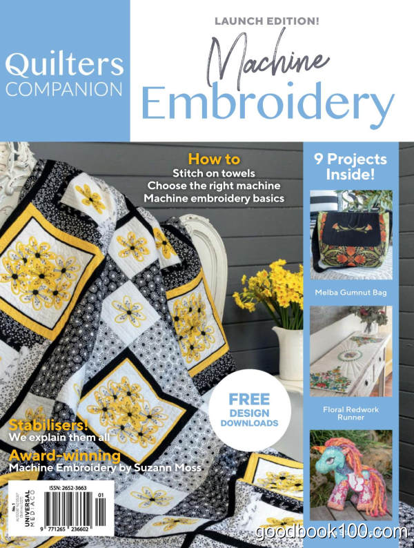 Machine_Embroidery_-_Issue_1_2019英文原版高清PDF电子杂志下载