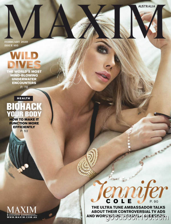Maxim_Australia_-_February_2020英文原版高清PDF电子杂志下载