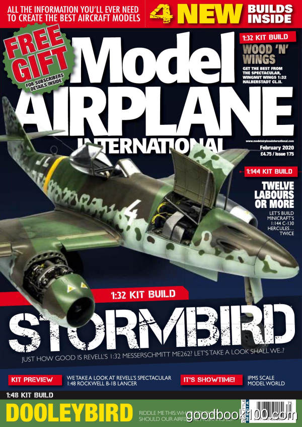 Model_Airplane_International_-_Issue_175_-_February_2020英文原版高清PDF电子杂志下载