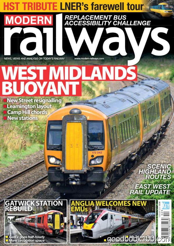 Modern_Railways_-_February_2020英文原版高清PDF电子杂志下载