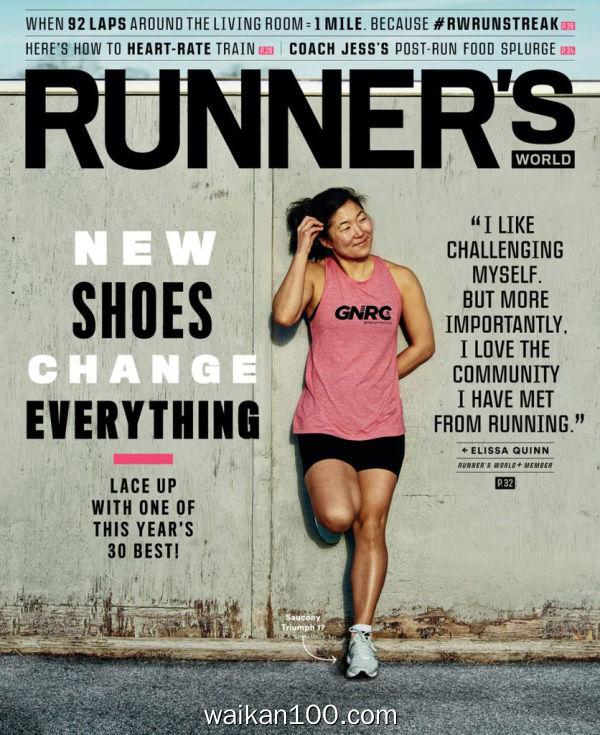 [美国版]Runner's World 2月刊 2020年 [140MB]