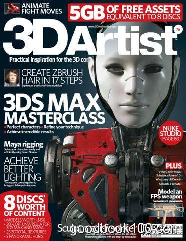 3D Artist – No.76 2015