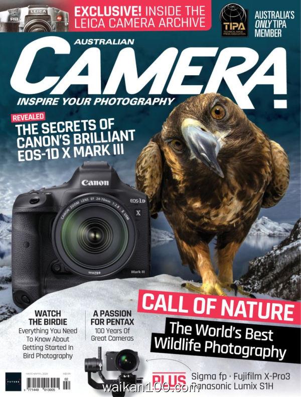 Australian Camera 3月4月合刊 2020年高清PDF电子杂志外刊期刊下载英文原版