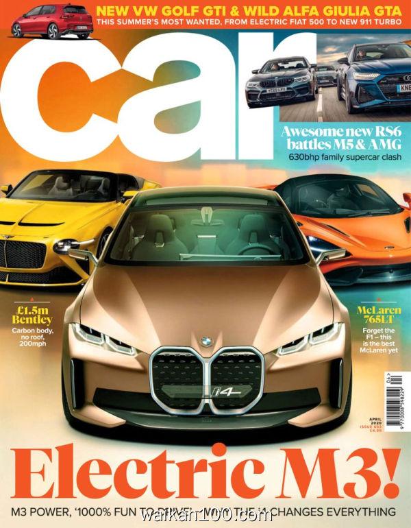 [英国版]Car 4月刊 2020年高清PDF电子杂志外刊期刊下载英文原版