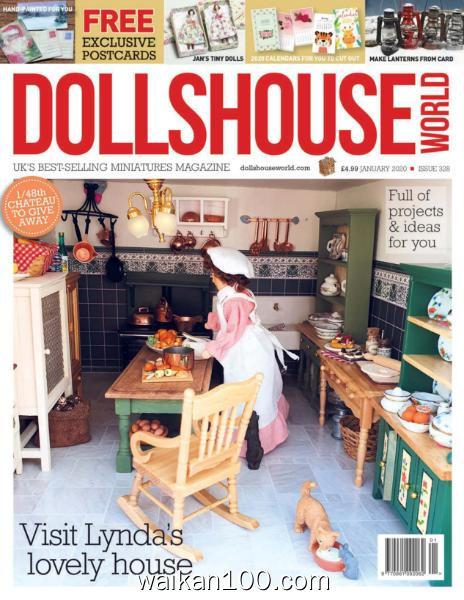 Dolls House World 总期数No.328 1月刊 2020年 [19MB]