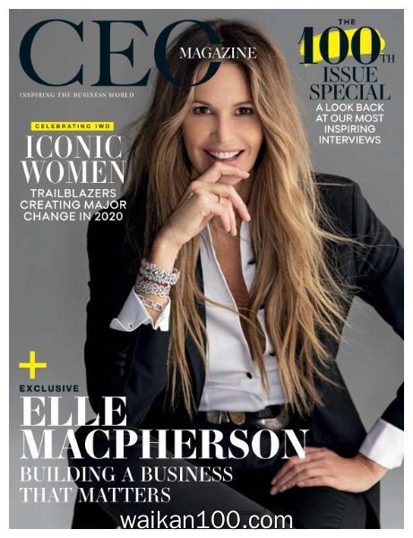 [澳大利亚版]The CEO Magazine &New Zealand 3月刊 2020年高清PDF电子杂志外刊期刊下载英文原版
