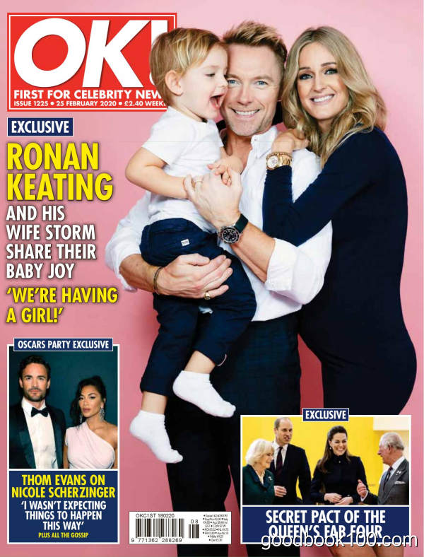 [英国版]OK!Magazine 24 2月刊 2020年 [13MB]