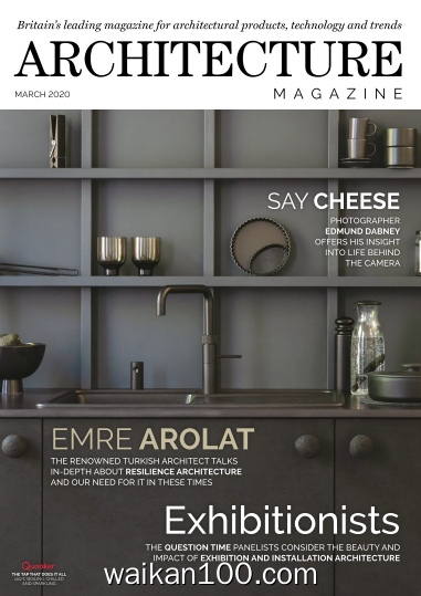 Architecture Magazine 3月刊 2020年 [24MB]