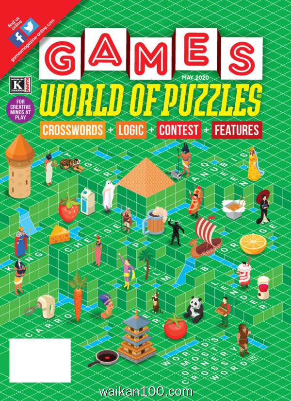 Games World of Puzzles 5月刊 2020年 [50MB]