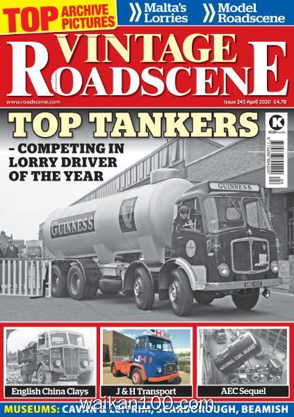 Vintage Roadscene 总期数No.245 4月刊 2020年 [31MB]