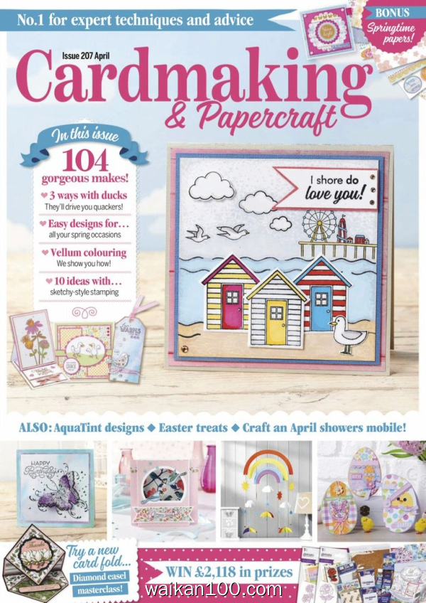 Cardmaking&Papercraft 5月刊 2020年高清PDF电子杂志外刊期刊下载英文原版