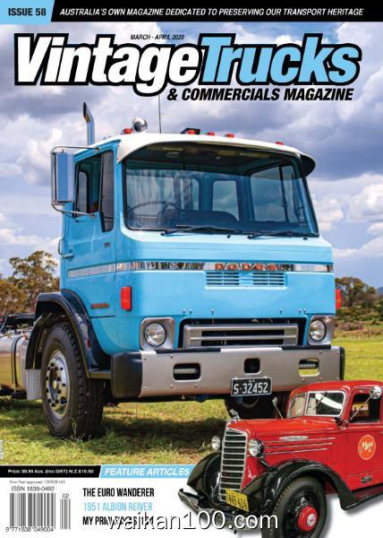 Vintage Trucks&Commercials 3月4月合刊 2020年 [39MB]