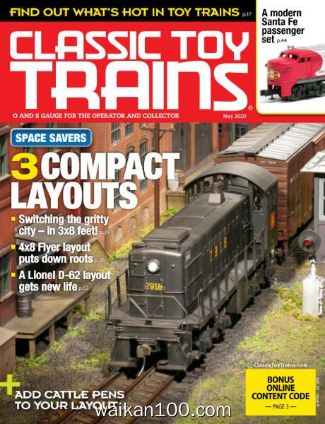 Classic Toy Trains 5月刊 2020年 [18MB]