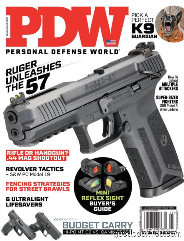 Personal_Defense_World_-_Issue_225_-_February-March_2020英文原版高清PDF电子杂志下载