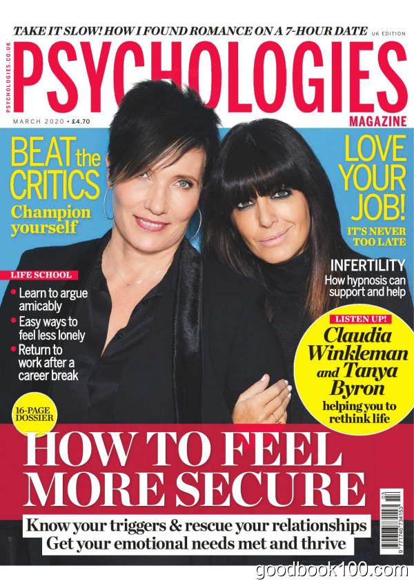 Psychologies_UK_-_March_2020英文原版高清PDF电子杂志下载
