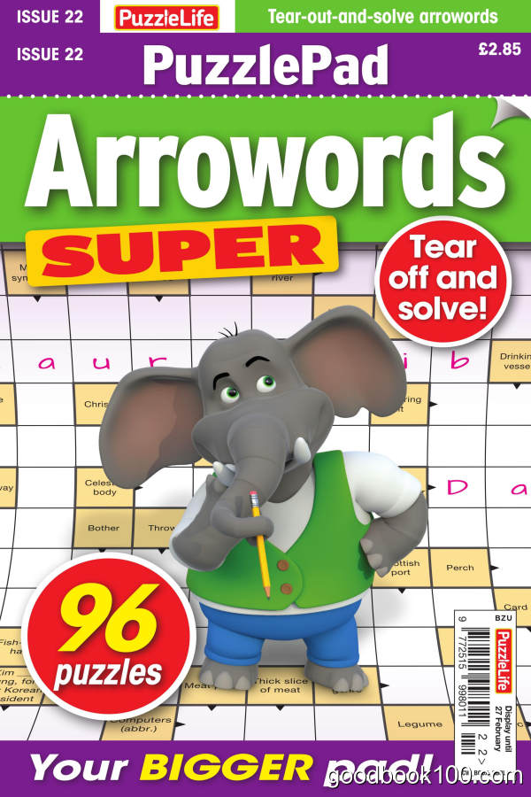 PuzzleLife_PuzzlePad_Arrowords_Super_-_Issue_22_-_January_2020英文原版高清PDF电子杂志下载