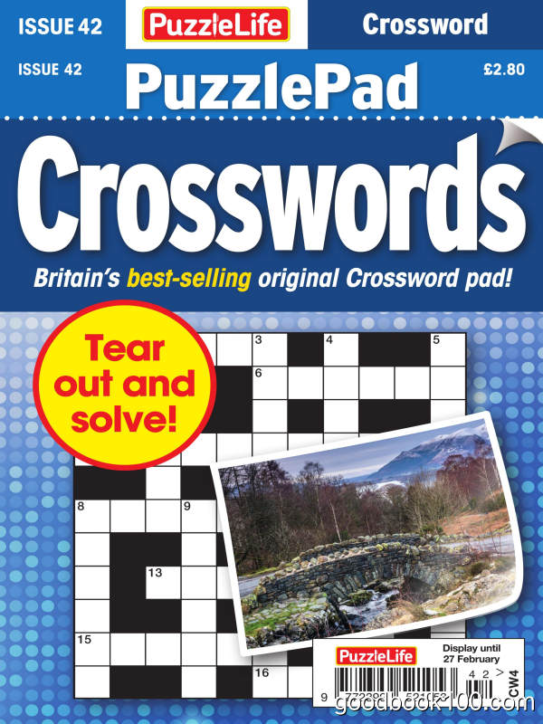PuzzleLife_PuzzlePad_Crosswords_-_Issue_42_-_January_2020英文原版高清PDF电子杂志下载