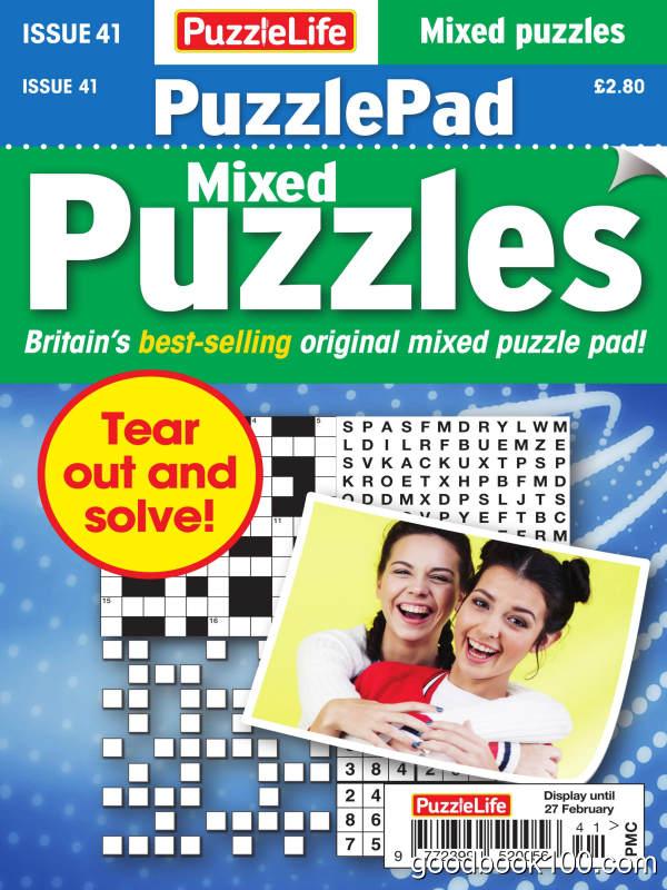 PuzzleLife_PuzzlePad_Puzzles_-_Issue_41_-_January_2020英文原版高清PDF电子杂志下载
