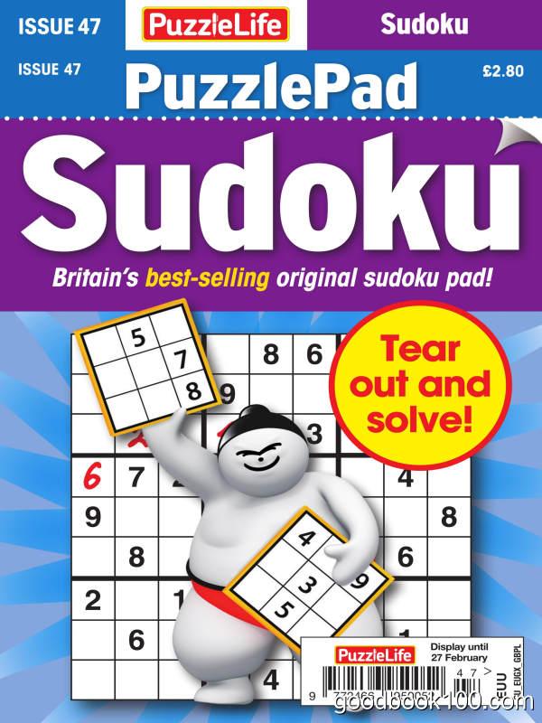 PuzzleLife_PuzzlePad_Sudoku_-_Issue_47_-_January_2020英文原版高清PDF电子杂志下载