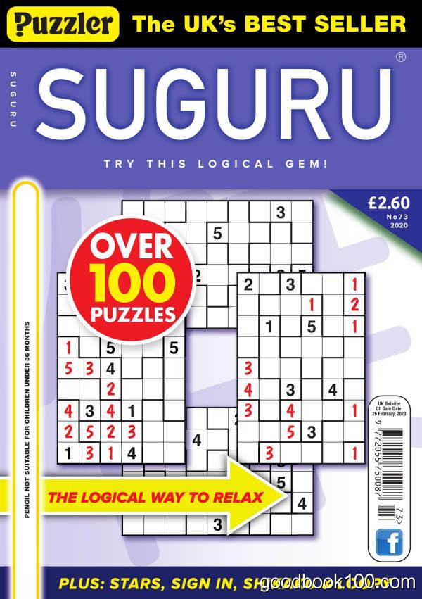Puzzler_Suguru_-_Issue_73_-_January_2020英文原版高清PDF电子杂志下载