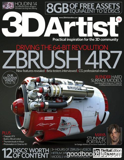 3D Artist – Issue 78, 2015