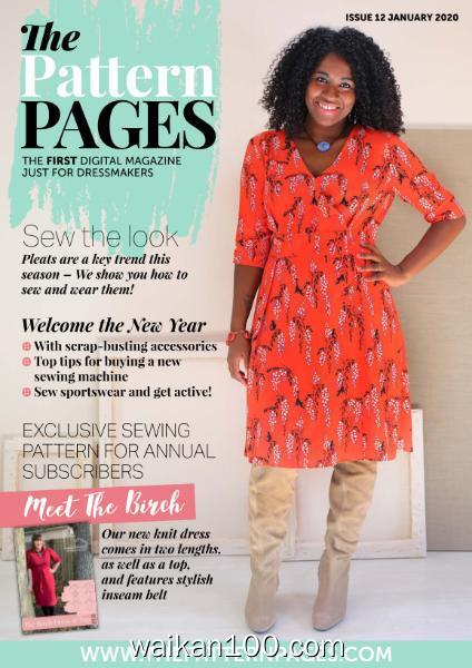 The Pattern Pages 总期数No.12 1月刊 2020年高清PDF电子杂志外刊期刊下载英文原版