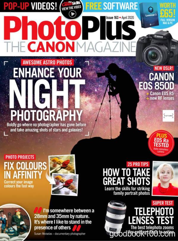 PhotoPlus_The_Canon_Magazine_-_April_2020英文原版高清PDF电子杂志下载