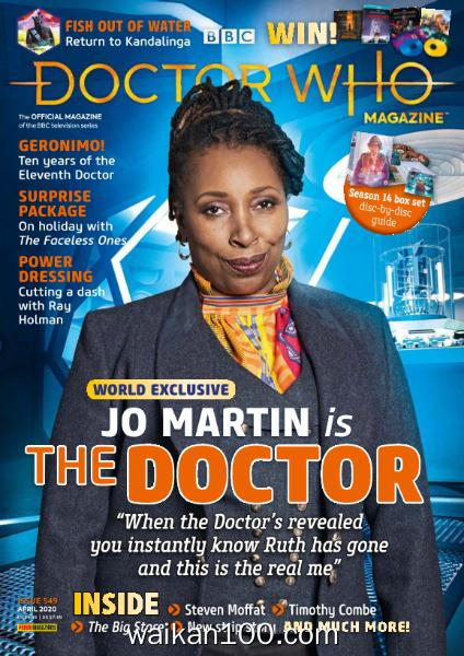 Doctor Who Magazine 总期数No.549 4月刊 2020年高清PDF电子杂志外刊期刊下载英文原版