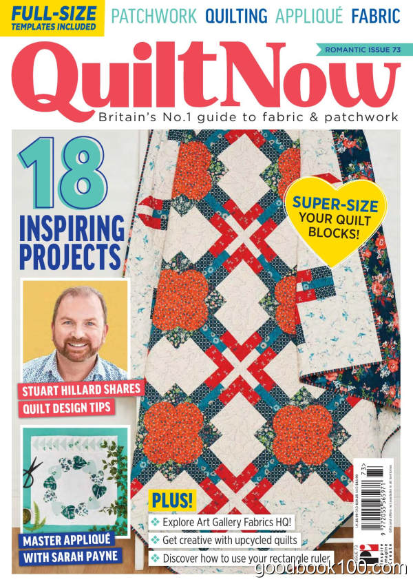 Quilt_Now_-_Issue_73_-_January_2020英文原版高清PDF电子杂志下载
