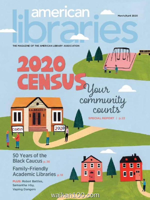 American Libraries 3月刊 2020年高清PDF电子杂志外刊期刊下载英文原版