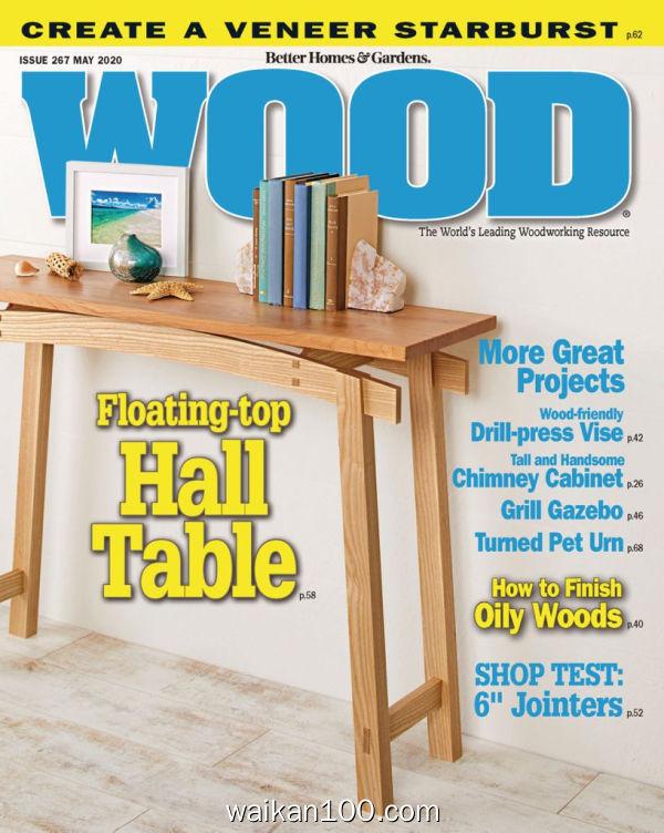 WOOD Magazine 5月刊 01 2020年 [115MB]