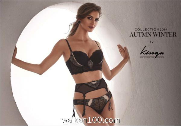 Kinga Lingerie Autumn Winter Collection Catalog 2019 2020年高清PDF电子杂志外刊期刊下载英文原版