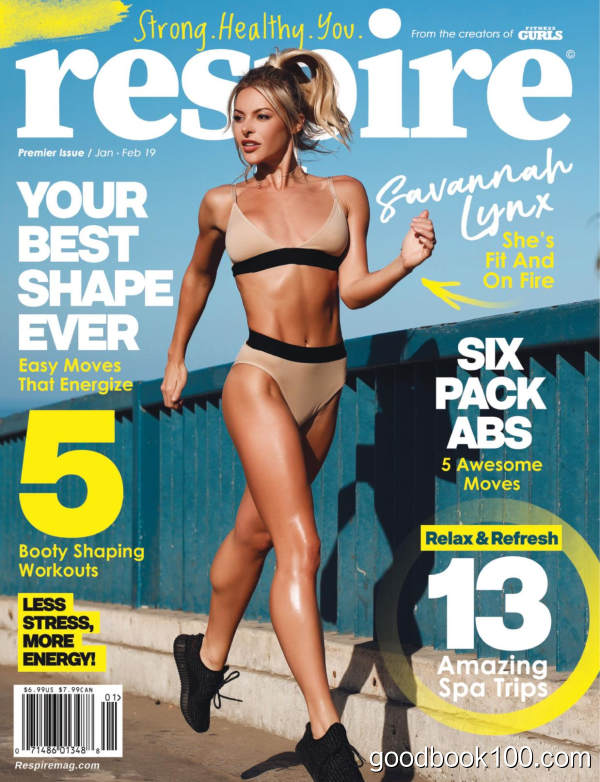 Respire_Magazine_-_Premier_Issue_-_January-February_2019英文原版高清PDF电子杂志下载