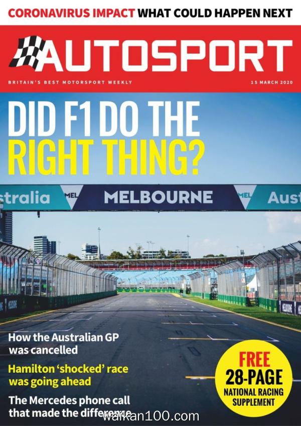 Autosport 19 3月刊 2020年 [104MB]