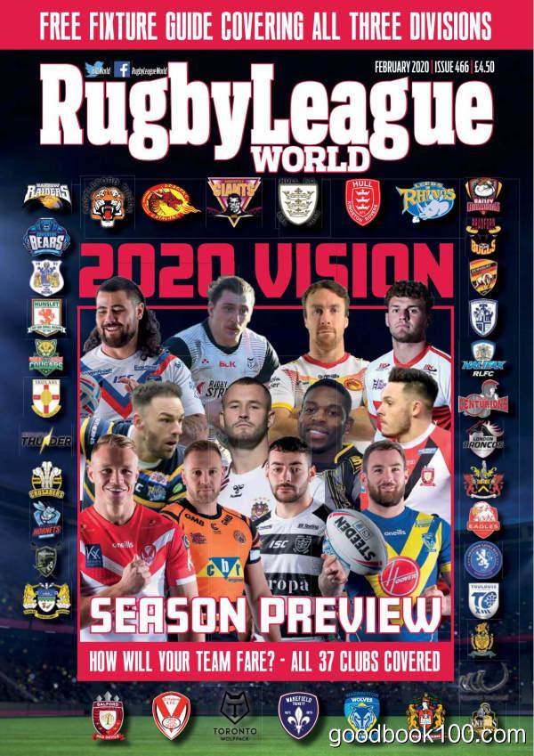 Rugby_League_World_-_Issue_466_-_February_2020英文原版高清PDF电子杂志下载