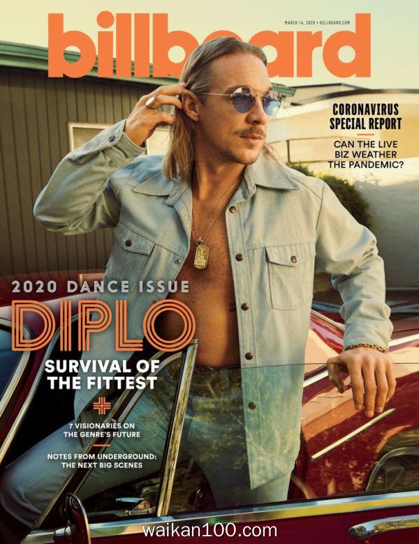 Billboard 3月刊 14 2020年 [92MB]