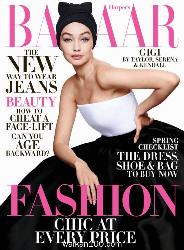 [美国版]Harper's Bazaar 4月刊 2020年 [183MB]