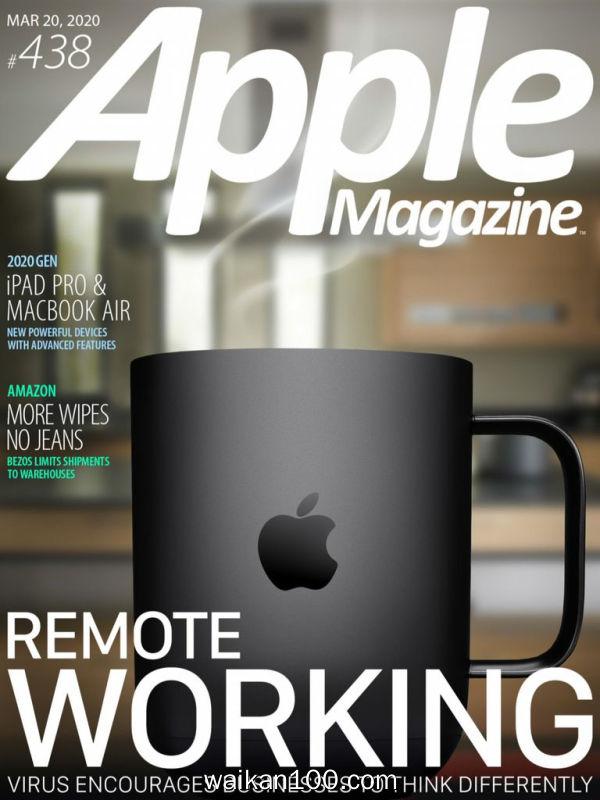 AppleMagazine 3月刊 20 2020年 [126MB]