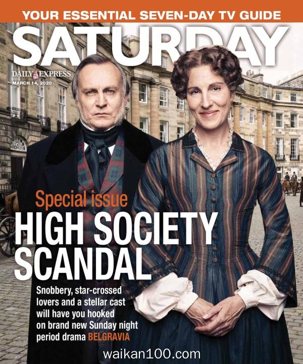 Saturday Magazine 3月刊 14 2020年 [13MB]