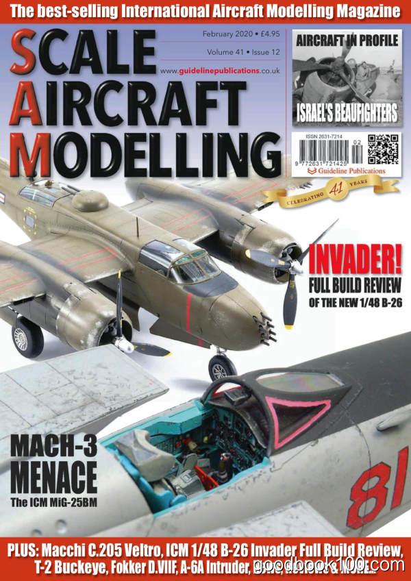 Scale_Aircraft_Modelling_-_February_2020英文原版高清PDF电子杂志下载