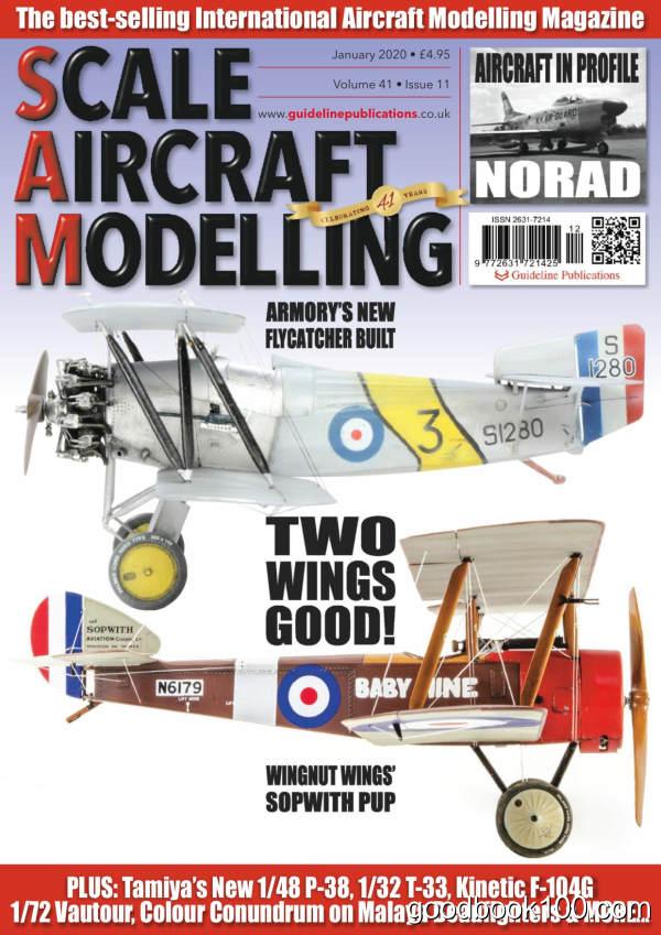 Scale_Aircraft_Modelling_-_Volume_41_Issue_11_-_January_2020英文原版高清PDF电子杂志下载
