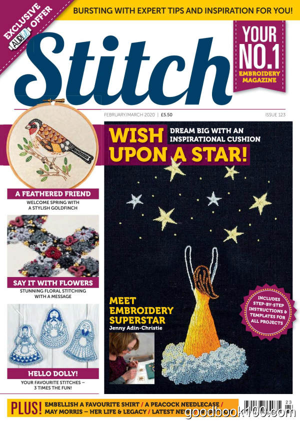 Stitch_Magazine_-_Issue_123_-_February-March_2020英文原版高清PDF电子杂志下载
