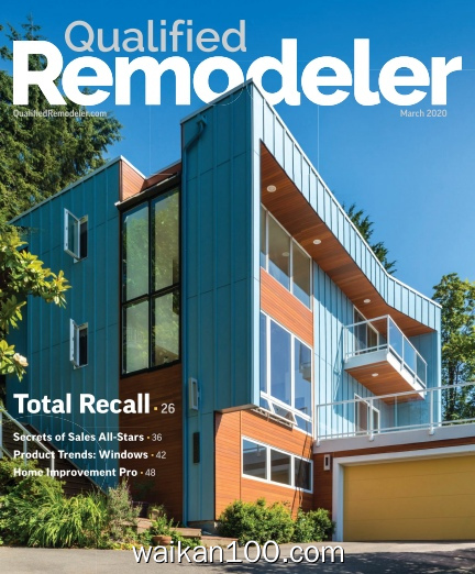 Qualified Remodeler 3月刊 2020年 [15MB]