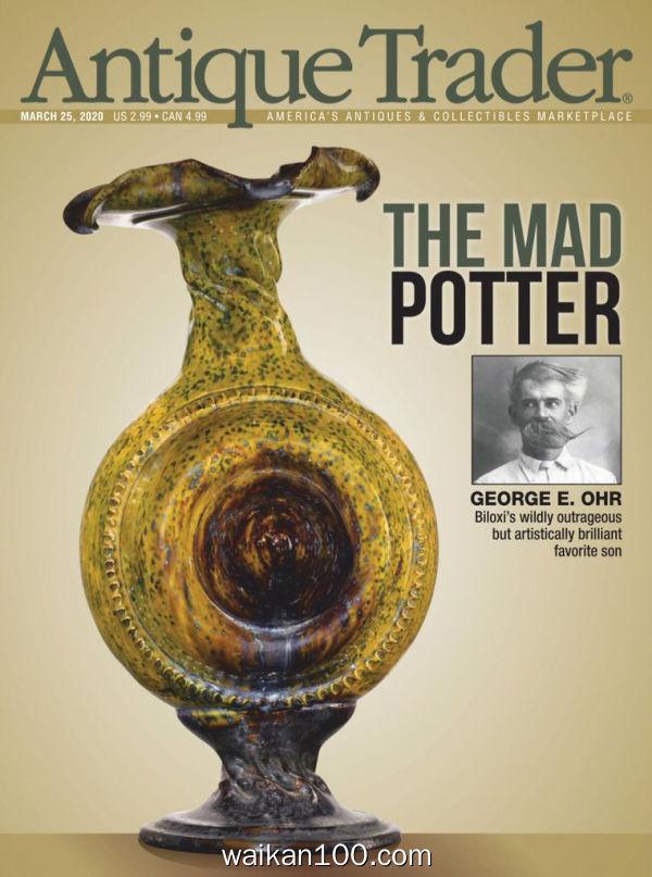 Antique Trader 25 3月刊 2020年高清PDF电子杂志外刊期刊下载英文原版
